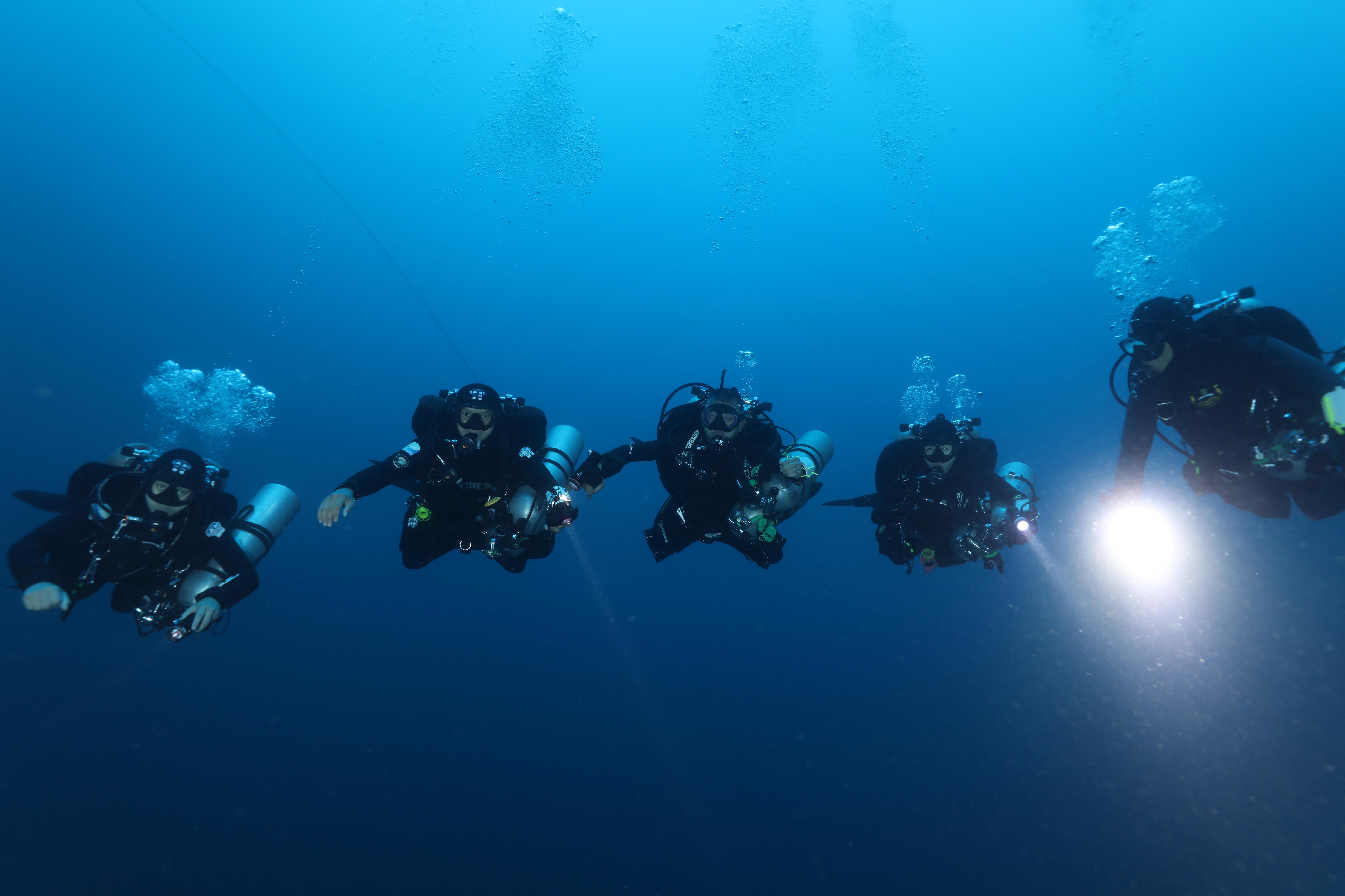 TDI Extended Range Diver - 空氣延伸潛水員