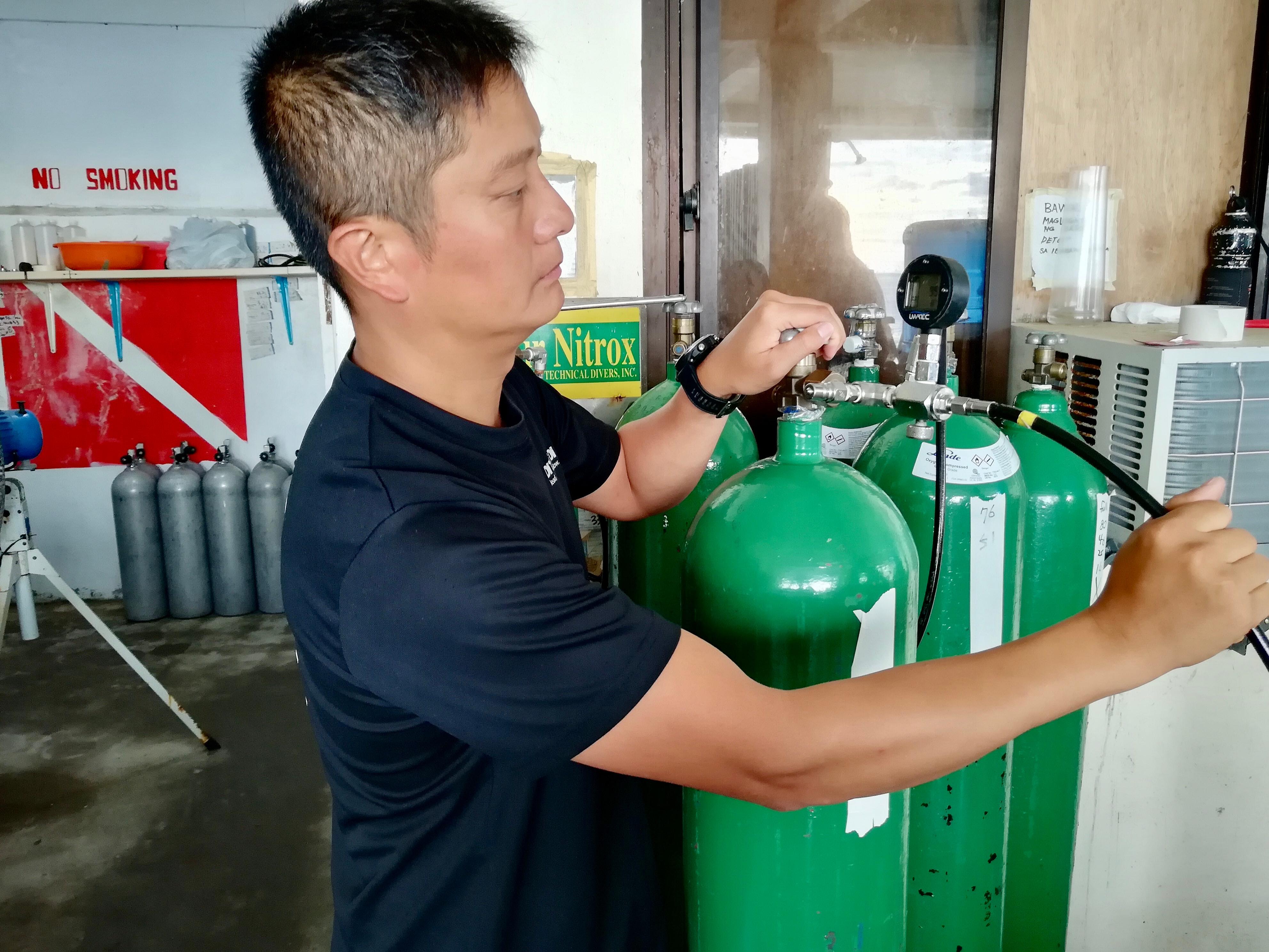 TDI Nitrox Gas Blender - 高氧混合氣技師