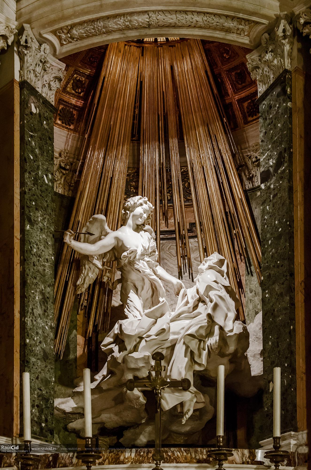 Extasis de Santa Teresa de Bernini