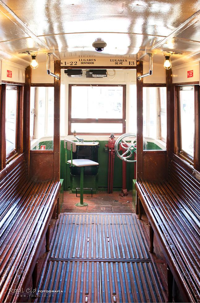 Interior de Tranvía