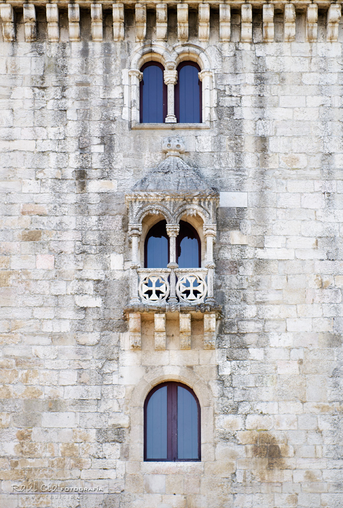 Detalle de la Torre de Belem