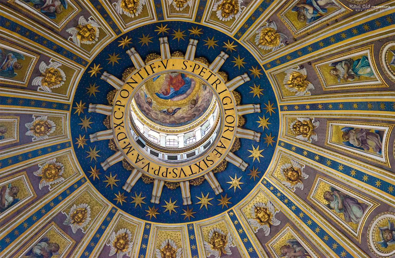Cúpula de la basilica de San Pedro