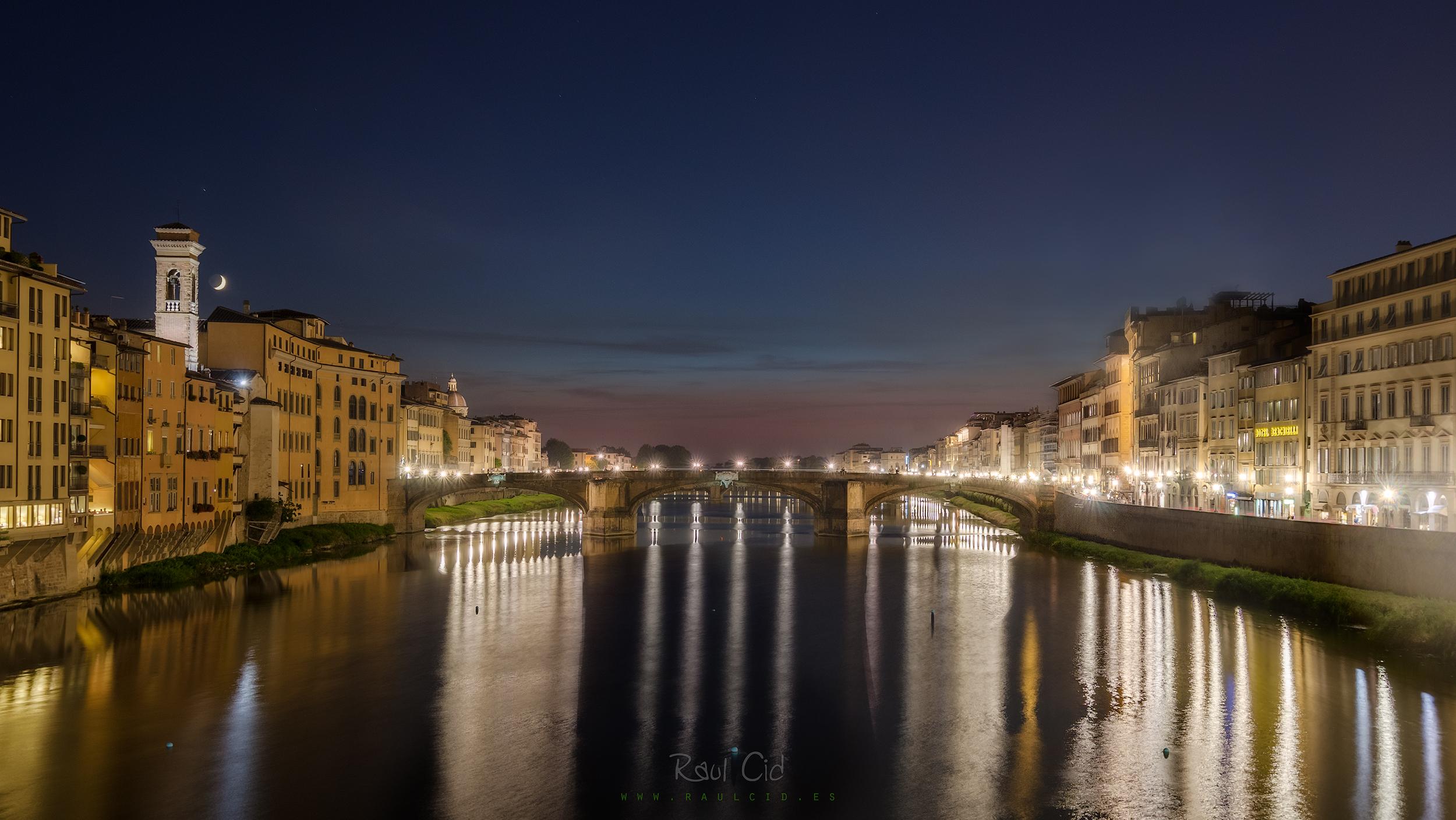 Vistas desde el Puente Vecchio