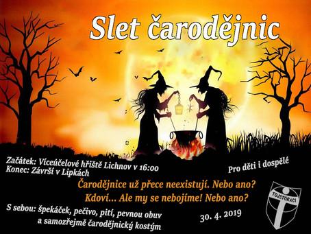Čarodějnice se v úterý opět sletí!
