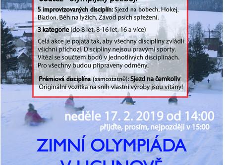 Zimní olympiáda 17.2.2019