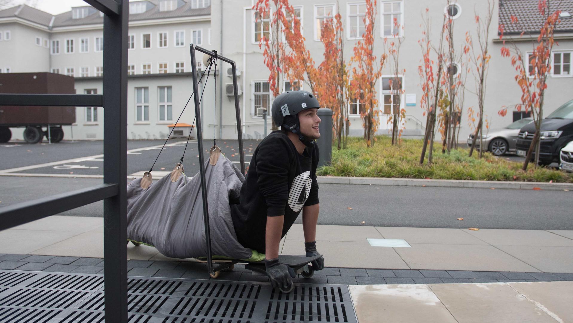 Skate Fly Kurzschluss Projekt Human Amplifieres