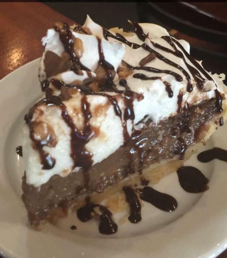 Heath Chocolate Pie