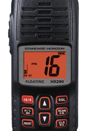 HX290E Floating 5W Hand Portable