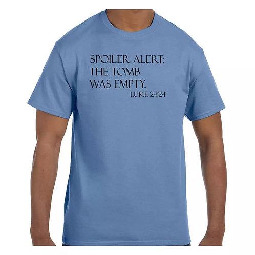 "Men's ""Spoiler Alert"" T-Shirt"