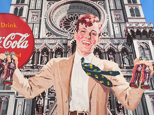 Coke Ad (after Florence-Duomo & National Geographic)