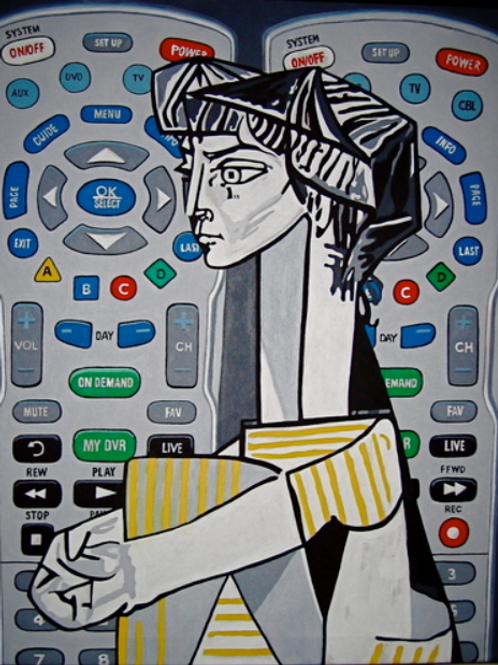 Remotes (after Picasso)