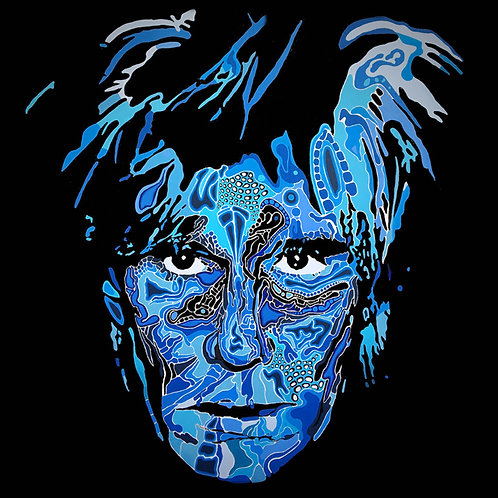 Andy Warhol - Blue