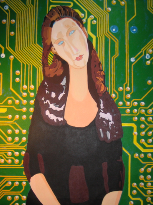 Motherboard (after Modigliani)