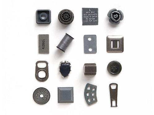 16 Gray Things