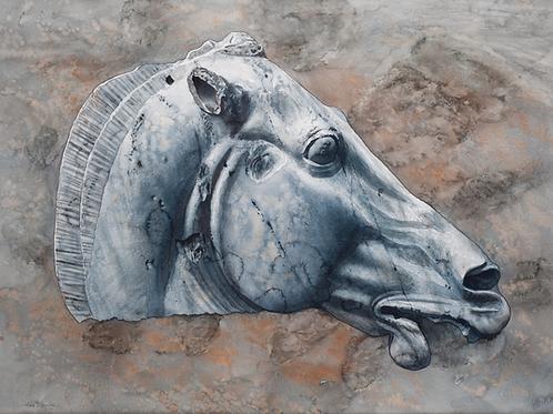 Allen Blagden-Boutiqueartprints.com-Elgin Marble, Horse Prints
