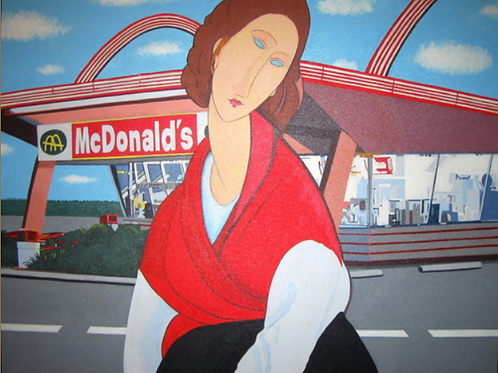 McDonald's (after Modigliani)