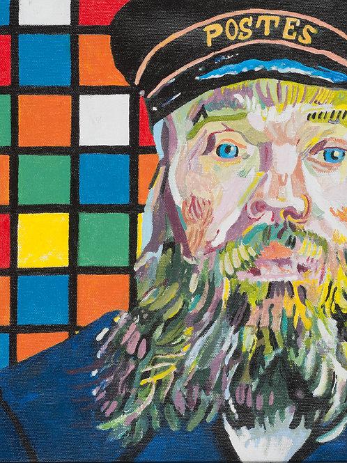 Cube (after Van Gogh)