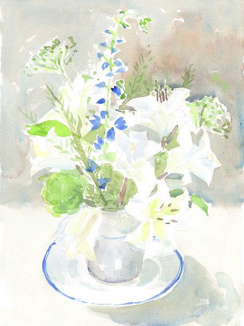 White Lilies