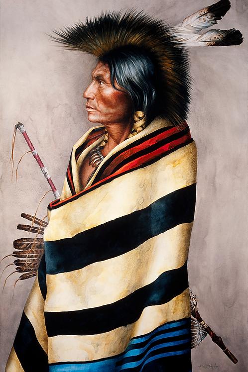 Allen Blagden-Boutiqueart-Chief Blanket-Museum Quality Prints