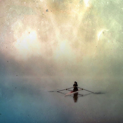 Anne Day |boutiqueart prints|Vermont Sculler