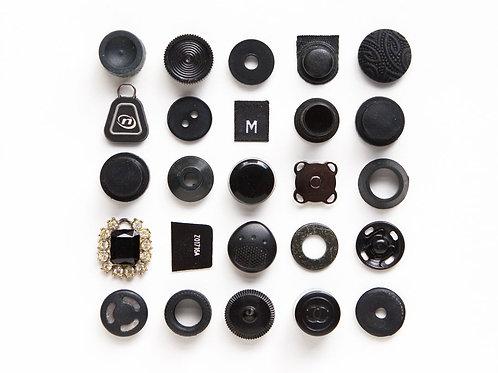 25 Black Things