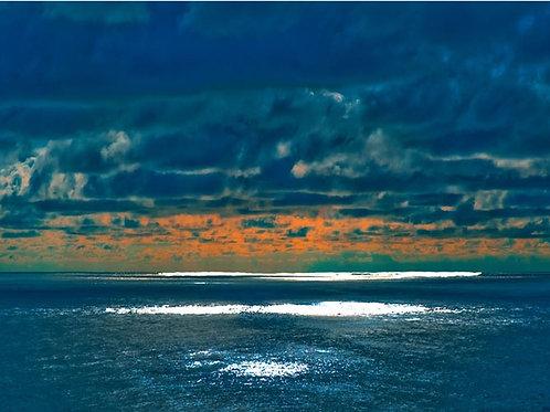 Don Perdue|boutiqueart|Sunset Moonrise Bermuda