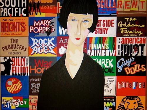 Broadway (after Modigliani)