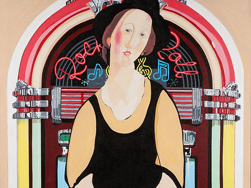 Juke Box (after Modigliani)