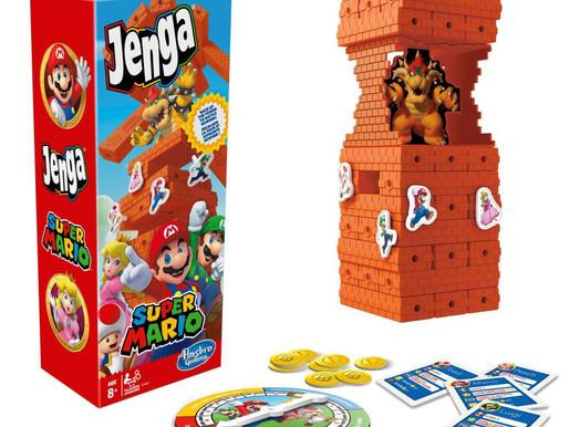 Hasbro lança brinquedos tematicos de Super Mario Bros