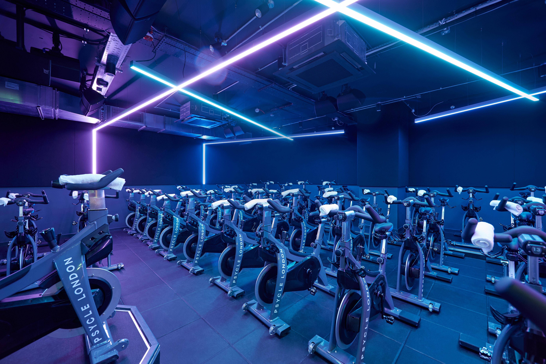 Psycle Westbourne Grove | Lightivity Lighting Design