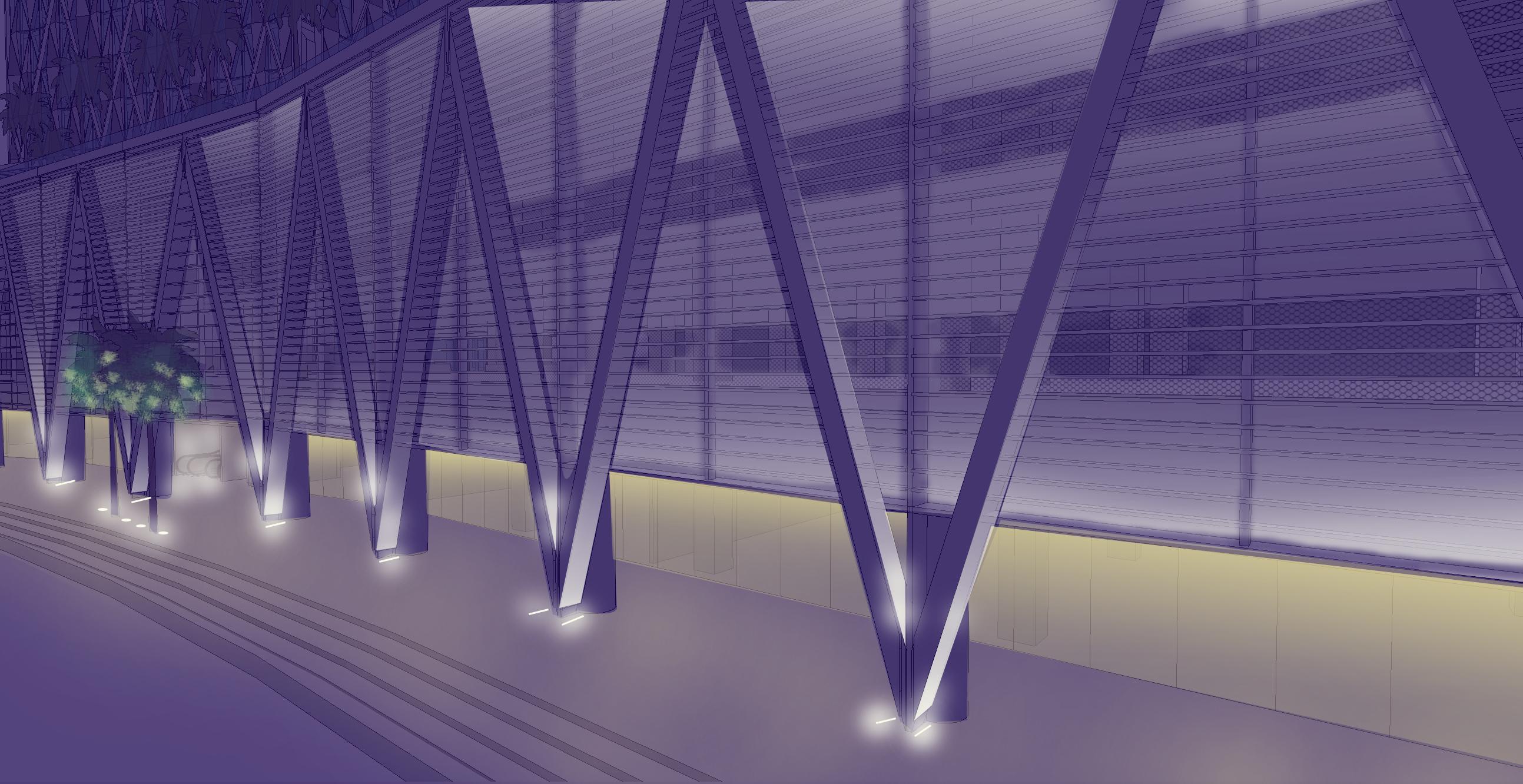 Business Bay Towers Dubai   Lightivity Lighting Design
