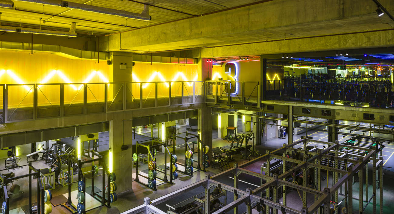 Gymbox Elephant & Castle | Lightivity Lighting Design