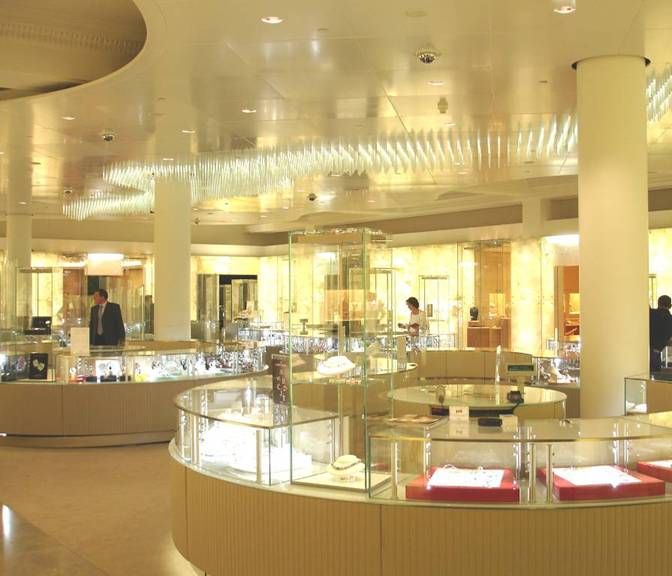 Harrods Fine Jewellery Room