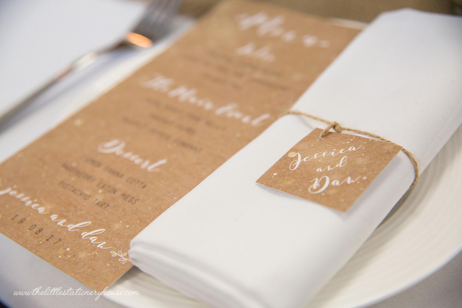 Rustic Wedding Stationery