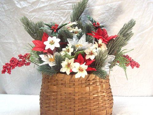 Christmas Wall Basket