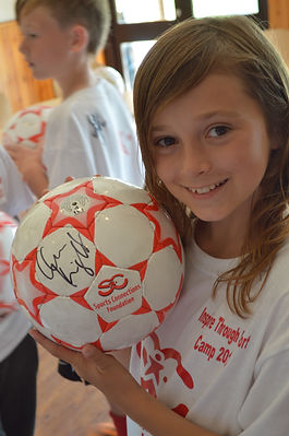 Inspire through Sport Camp - August 2013