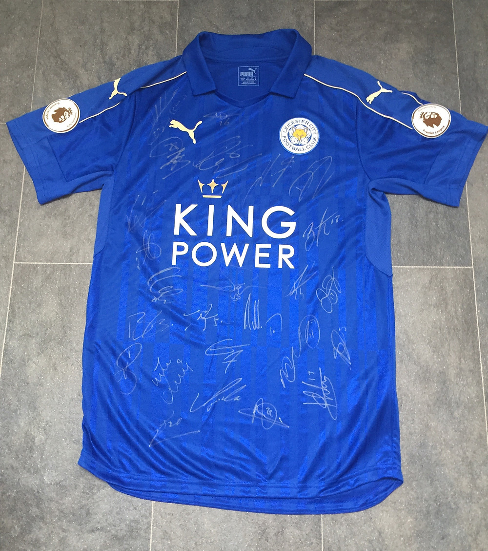 Signed Leicester City shirt