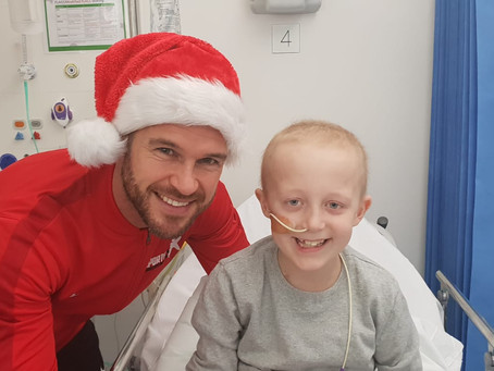 Sports Connections Foundation Spread Christmas Joy!