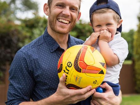 Local boy Craig Mackail-Smith supports SCF!