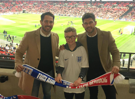 Sports Connections Foundation Witness A 5 Goal Thriller At Wembley!
