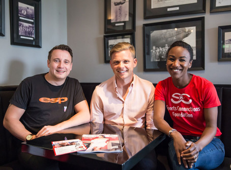 Jeff Brazier Supports SCF