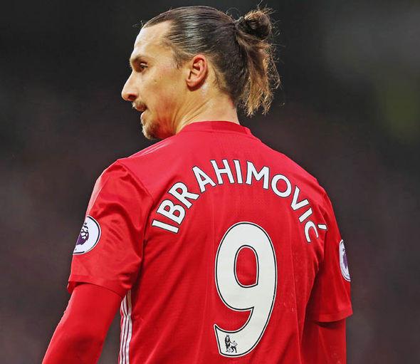 Zlatan Ibrahimovic signed Man Utd shirt