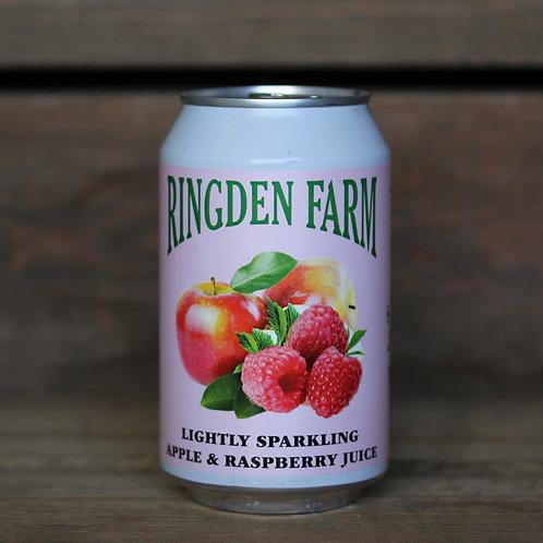 Sparkling Raspberry & Apple Juice