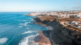 Vista aérea de Ericeira a partir da Foz do Lizandro   @Henrique Escopelli