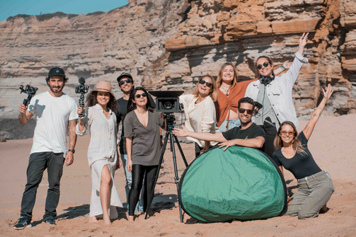 Shoot Day com a Ericeira Film School em Ribeira D'Ilhas   @Yarin Goren