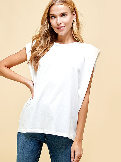 Sadie Puff Shoulder Tee