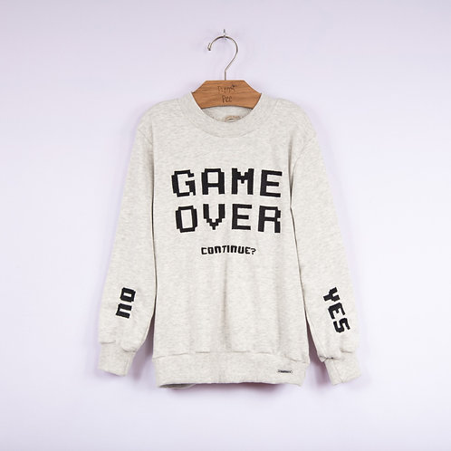 Blusa de Moletom Game Over