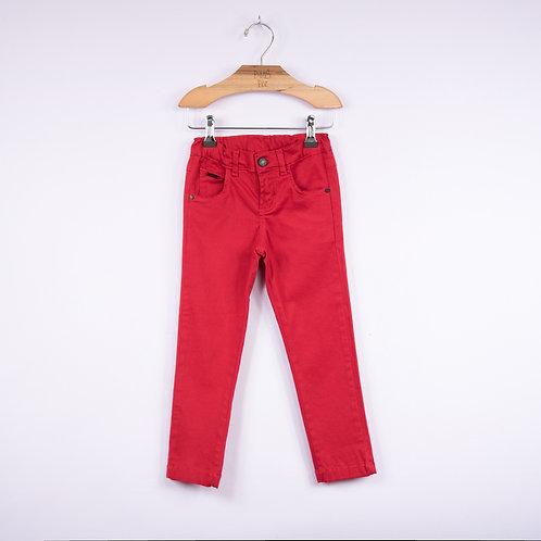 Calça de Sarja Vermelha