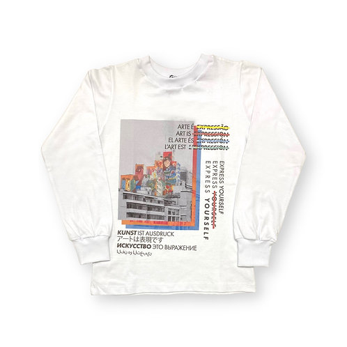 """Camiseta Manga Longa """"Express Yourself"""""""