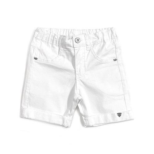 Shorts de Sarja Branco